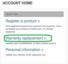 How do I make a warranty claim for my InvisibleShield? – Welcome to ZAGG Care