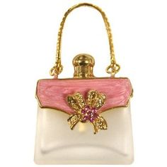Rucci Pink Handbag Shaped Perfume Bottle