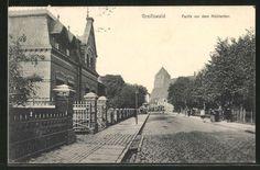 schoene-AK-Greifswald-Partie-vor-dem-Muehlentor-1912