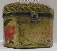 Wonderful Tinware Pincushion made by Zachariah Stevens in Maine about 1800