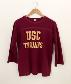 vintage USC jersey t-shirt. perfectly distressed in all the right places…