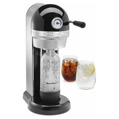KitchenAid KSS1121OB Sparkling Beverage Maker, Onyx Black >>> This is an Amazon Affiliate link. Click on the image for additional details.