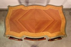 French Louis XV marquetry Bureau Desk