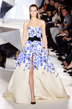Oh, I could do so much with that design.  Giambattista Valli Couture Spring 2014 Flowerprints all over this summer