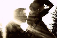 #sunlight, #pregnancy, #love, #silhouette, #belly, #kiss