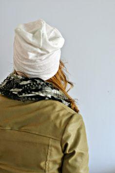 PERUSPIPON KAAVA JA OMPELUOHJEET - Ideoiblogi Winter Hats, Beanie, Embroidery, Sewing, Chic, Womens Fashion, Beanies, Hat, Shabby Chic