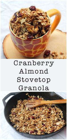 ... Recipes on Pinterest | Granola, Overnight Oats and Breakfast Bowls
