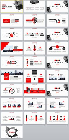 Business infographic : 28 Red Annual design report PowerPoint template on Behance Powerpoint Slide Designs, Professional Powerpoint Templates, Creative Powerpoint Templates, Powerpoint Presentation Templates, Keynote Template, Powerpoint Update, Powerpoint Presentations, Corporate Presentation, Presentation Layout