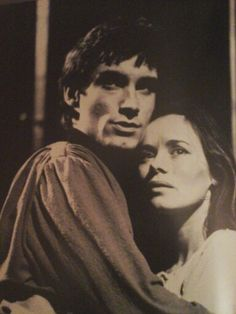 1973 - 'Romeo & Juliet' Timothy Dalton and Estelle Kohler in the leads.  RSC Photo by Frank Herrmann.