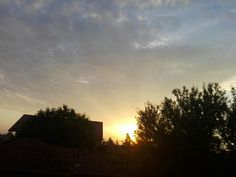 Sunrise in my hometown.