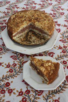 Almond and Hazelnut Cream Cake