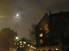 CPH north central by night Bricks, Copenhagen, Copper, Celestial, Sunset, Night, Outdoor, Outdoors, Brick