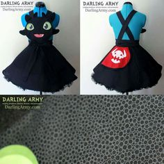 Toothless dress