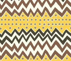 zig_zag fabric by stacyiesthsu on Spoonflower - custom fabric