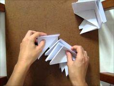 Caixa de Origami com Tampa - Passo a passo - YouTube