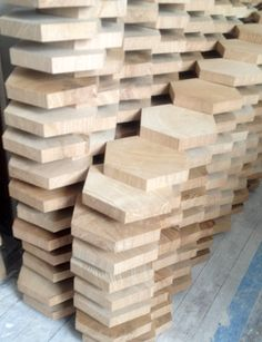 Special Delivery: Nearly 4,500 Pieces in Hexagonal End-Grain Floor