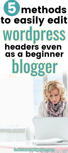 Using WordPress for your blog and need to edit your WordPress header? Then this WordPress for beginners guide will show you exactly how to edit your WordPress header with this selection of WordPress tips + tutorials. That will make changing your WordPress header + its HTML code an easy task with these blogging tips for beginners. Read more here to manage customizing your blog with these tips + help. #WordPress #BlogTips #BloggingForBeginners #NewBlogger #WordPressTips #Blogging Wordpress For Beginners, Blogging For Beginners, Wordpress Website Design, Create Your Own Website, Writing Words, Seo Tips, Wordpress Plugins, Make Money Blogging, Header