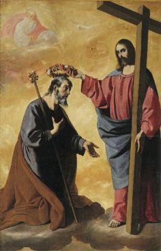 Saint Joseph, Crowned.