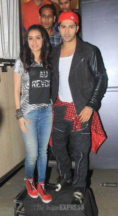 Varun Dhawan celebrates birthday with Shraddha Kapoor and 'ABCD team. Bollywood Couples, Indian Bollywood, Bollywood Stars, Bollywood Celebrities, Bollywood Actress, Bollywood Fashion, Indian Actresses, Actors & Actresses, Sraddha Kapoor