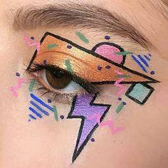 69 trendy makeup tutorial eyeshadow kids 69 trendige Make-up Tutorial Lidschatten Kinder Creative Makeup Looks, Unique Makeup, Cute Makeup, Pretty Makeup, Purple Makeup, Eye Makeup Art, Makeup Inspo, Makeup Inspiration, Beauty Makeup
