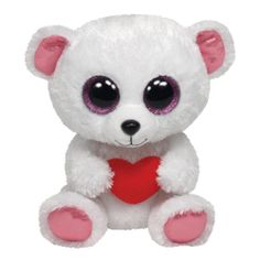 *Ty Beanie Boos*   Type: Polar Bear Name: Sweetly Birthday: February 21st Introduced: July 1, 2013 Retired: May 5, 2014