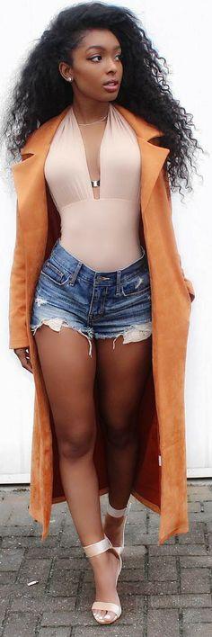 A Little Bit Of Orange Suede Never Hurt Anyone… // Fashion Look by Jourdan Riane