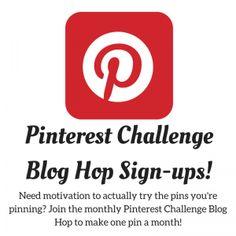 Blogger Opportunity - June Pinterest Challenge Blog Hop Sign-up