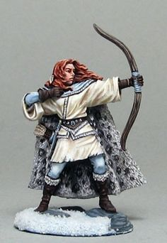 dark sword miniatures Wilding Spearwife with bow