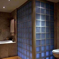 Shower Pan, Shower Kits, Glass Block Shower, Laminate Wall, Shower Wall Panels, Curved Glass, Block Wall, Glass Blocks, Innovation