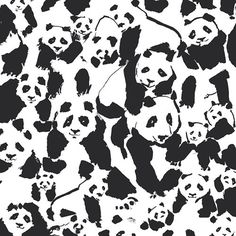Pandalings Pod Assured, Pandalicious Collection by Katarina Roccella for Art Gallery Fabrics, Woven quilting weight cotton