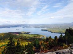 Great views from the top | Yelp Sara G.  Mt. Major looking over Alton Bay and Lake Winnipesaukee   Oct 11, 2014