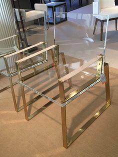 Trend: PlexiPerfect. The Halo Chair by Century Furniture , Market Square Floor 5. #HPMKT #hpmktSS  #hpmktcoveredinkryptonhome