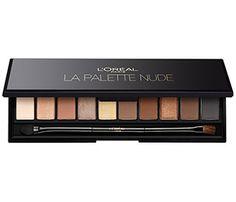 Entdecke jetzt die Lidschatten Palette von L'Oréal Paris. Erlebe das Make-Up Must-Have für dein Augen Make-Up: Color Riche La Palette Nude Beige.