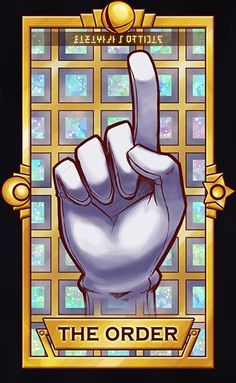 Master Hand - The Order by Quas-quas on DeviantArt #SSB #MasterHand #TarotCards