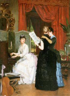 Louis-Edmond Pomey (french, 1831-1891 or 1901) circa 1883