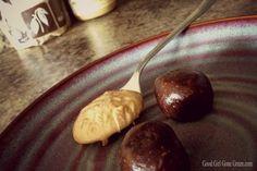 Chocolate Nut Butter Balls #vegan
