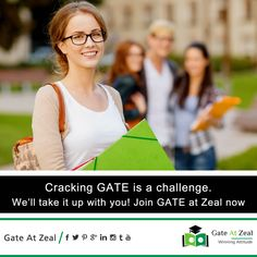 #GATE at Zeal helps a lot in elevating the knowledge level of weak and shy students and provides Unmatched Results