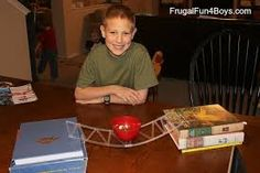 Image result for straw and rubber band bridge