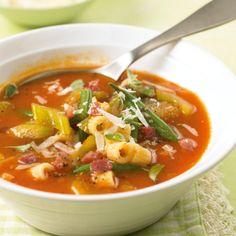 Italienische Küche: Minestrone