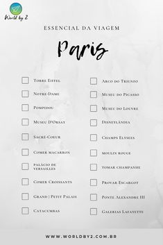Check-List de Viagem em Paris - Compartilhe quanto locais você já conheceu! #stories #paris Dubai Vacation, Dubai Travel, Paris Travel, Travel Checklist, Travel List, Dubai Things To Do, Dubai Nightlife, Europa Tour, Plan My Trip
