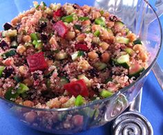 Chickpea and Quinoa Salad with Beets, Cucumbers, and Peppers : The Humane Society of the United States