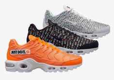 """87537817ce6 The Nike Air Max Plus Joins The """"Just Do It"""" Pack   bit"""