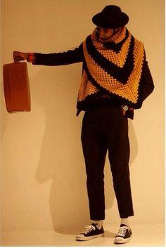 (C) Nigel Ruwende La Touche aka Mr Hat wears: Blanket scarf: Beyond retro Hat: Lock and Co Hatters Hat bag: Lock and Co Hatters Trouser: Ben Sherman Shoes: Converses Socks: Stance