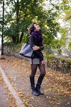 Quand j'ai senti l'automne pointer son nez je me suis fait une promesse: celle de porter (ENFIN!) ces bottes Golden Goose.