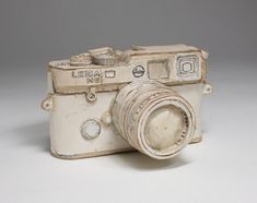 Another Tom Sachs camera sculpture.