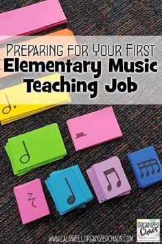 Preparing for Your First Elementary Music Teaching Job