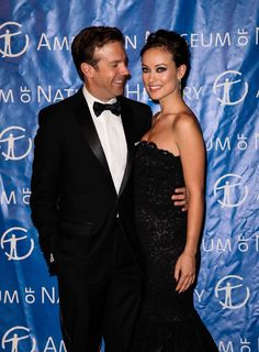 SNL's Jason Sudeikis and Olivia Wilde are now officially engaged. Olivia Wilde, Jason Sudeikis, SNL, Olivia Wilde and, SNL this saturday Hot Couples, Celebrity Couples, Jason Sudeikis Olivia Wilde, Hollywood Couples, Kansas City Wedding, Biker Chic, Matches Fashion, Expecting Baby, Celebs
