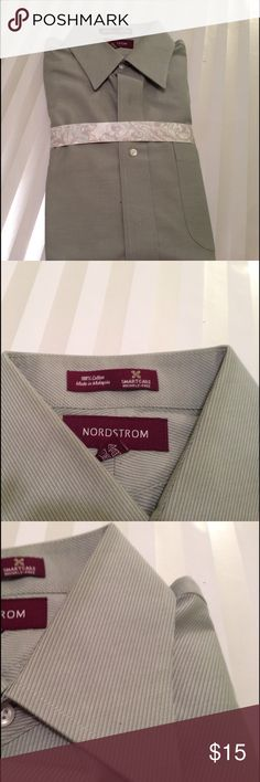 Men's button down shirt New Men's button down shirt 100% cotton smart care Nordstrom Shirts Casual Button Down Shirts