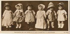 Photo of Kathe Kruse dolls 1914