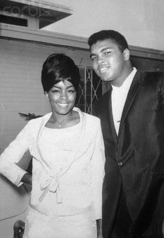 Muhammad Ali First Wife | Muhammad Ali and first wife Sonji Roi